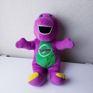 Talking singing Barney the Dinosaur plush